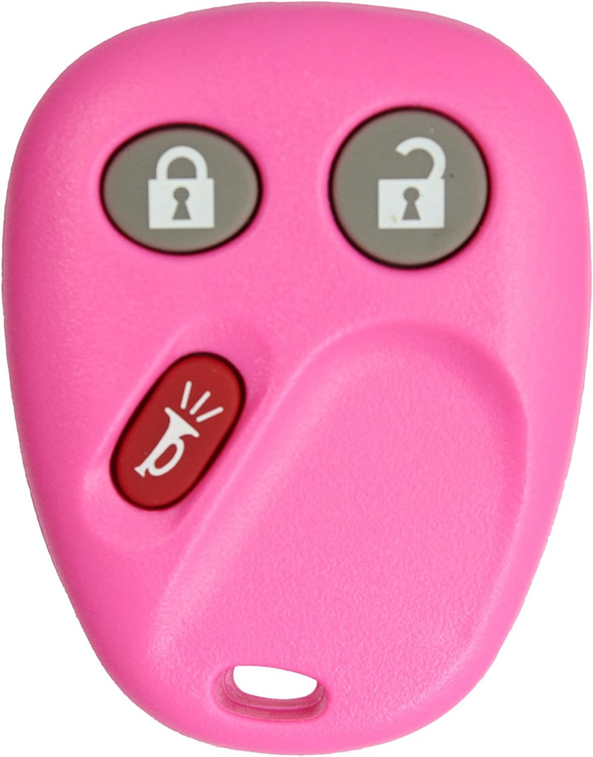 LHJ011 ReplaceMyRemote NEW Shell Only Keyless Entry Remote Control Car Key Fob Shell//Case//Housing for FCC ID Red