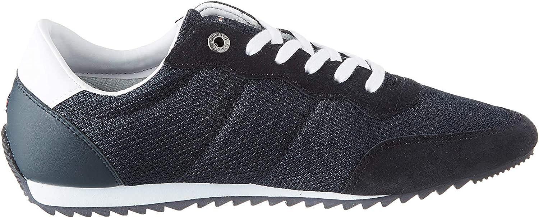 Tommy Hilfiger Essential Mesh Runner, Zapatillas para Hombre