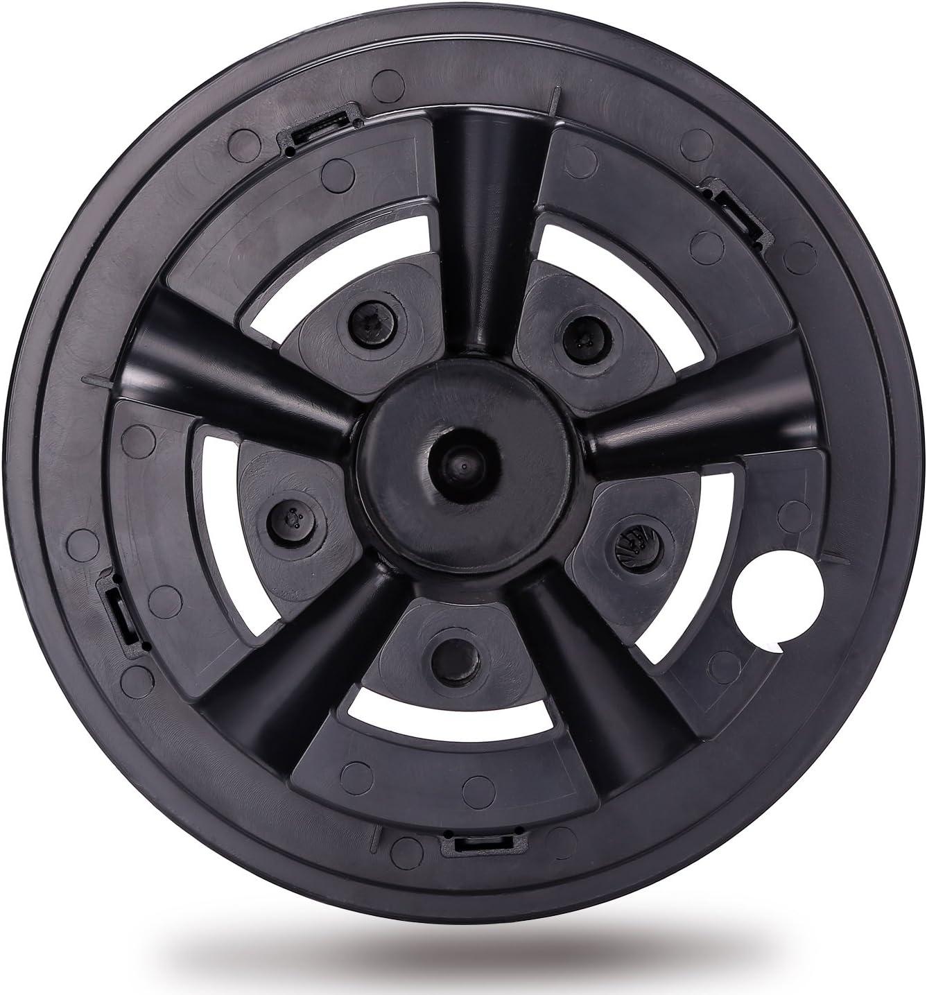 10L0L Golf Cart Wheel Covers Hub Caps for Yamaha/Club CAR/EZ-GO Par Car 8
