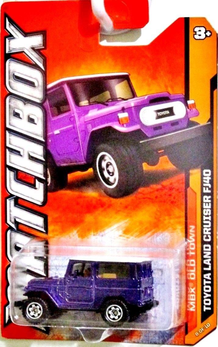 Matchbox 2012 Toyota Land Cruiser Fj40 Purple 68 120 1990 Toys Games