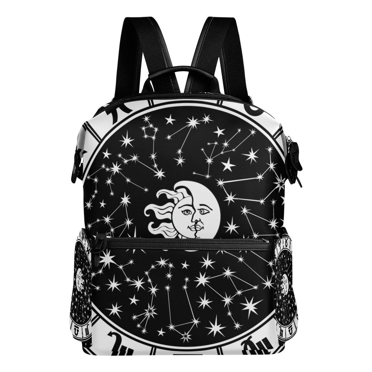 COOSUN oroscopo Circle Segno zodiacale scuola Zaino di viaggio Multi