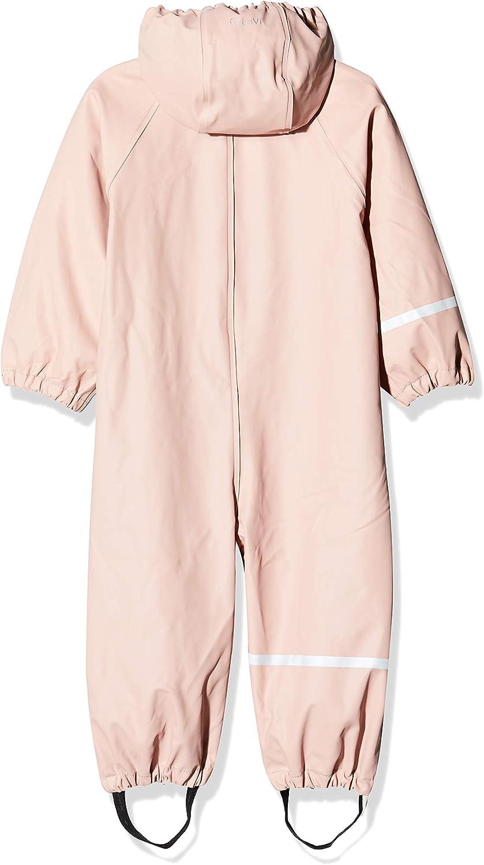 CeLaVi Baby-M/ädchen Regenanzug Einteilig in Vier Farben Regenjacke