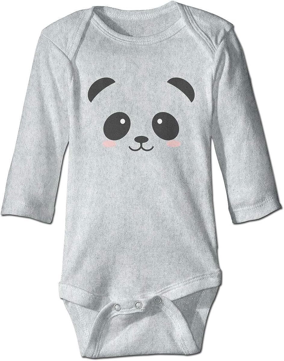 Marsherun Babys Toddler Panda Long-Sleeve Bodysuit Playsuits
