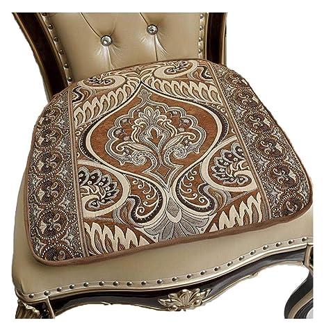 amazon com sideli memory foam kitchen chair pads non slip 16 u201dx16 rh amazon com Southwestern Kitchen Chair Cushions Non-Slip Kitchen Chair Cushions for Chairs