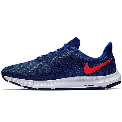 watch 94505 236ee Nike Herren Quest Laufschuhe Blau (Blue VoidRed OrbitIndigo ForceWhite