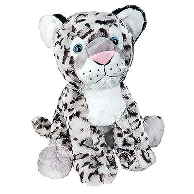 Cuddly Soft 16 inch Stuffed Snow Leopard - We Stuff 'em...You Love 'em!: Toys & Games