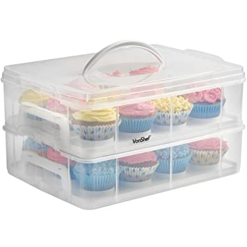 cupcake Black storage bottom
