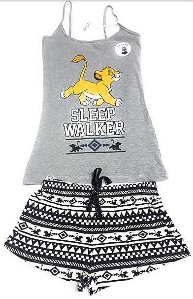 Primark - Pijama - para Mujer Gris Gris XL