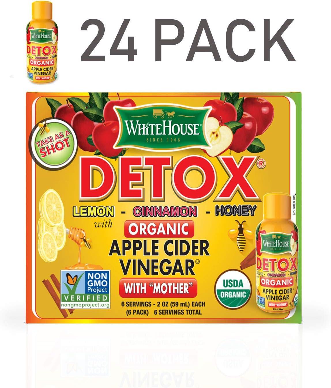 White House Organic Detox Shot 24 Pack 24
