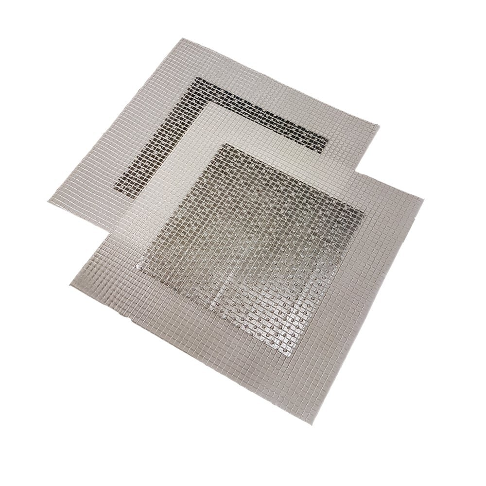 Giraffe Plasterboard and Drywall Repair Patch : (5cm x 5cm 2 pack) Perfect for fixing holes and cracks in walls and plasterboard