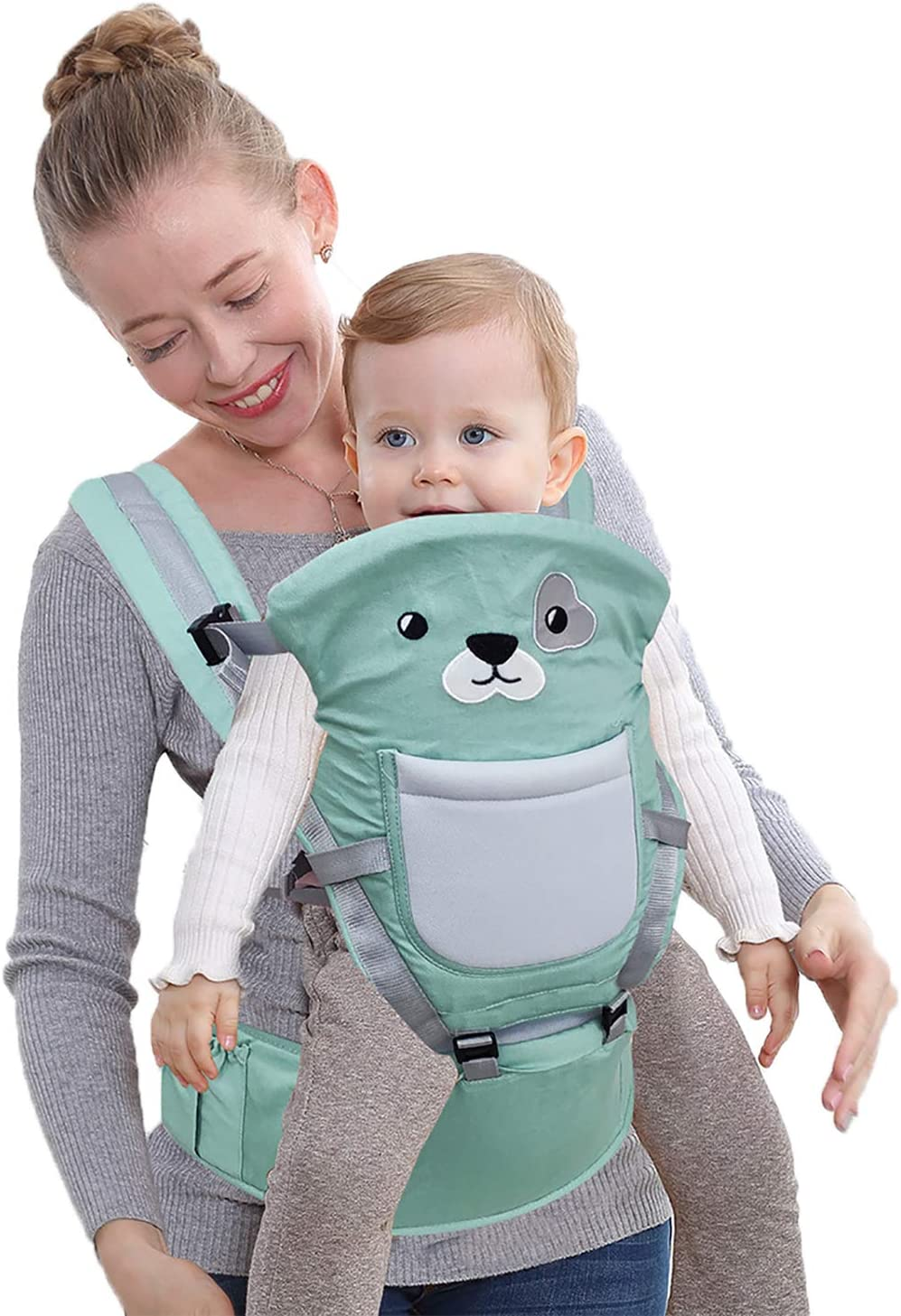 Rufun Baby Carrier Hip Seat Front Back Cute Animal Shape