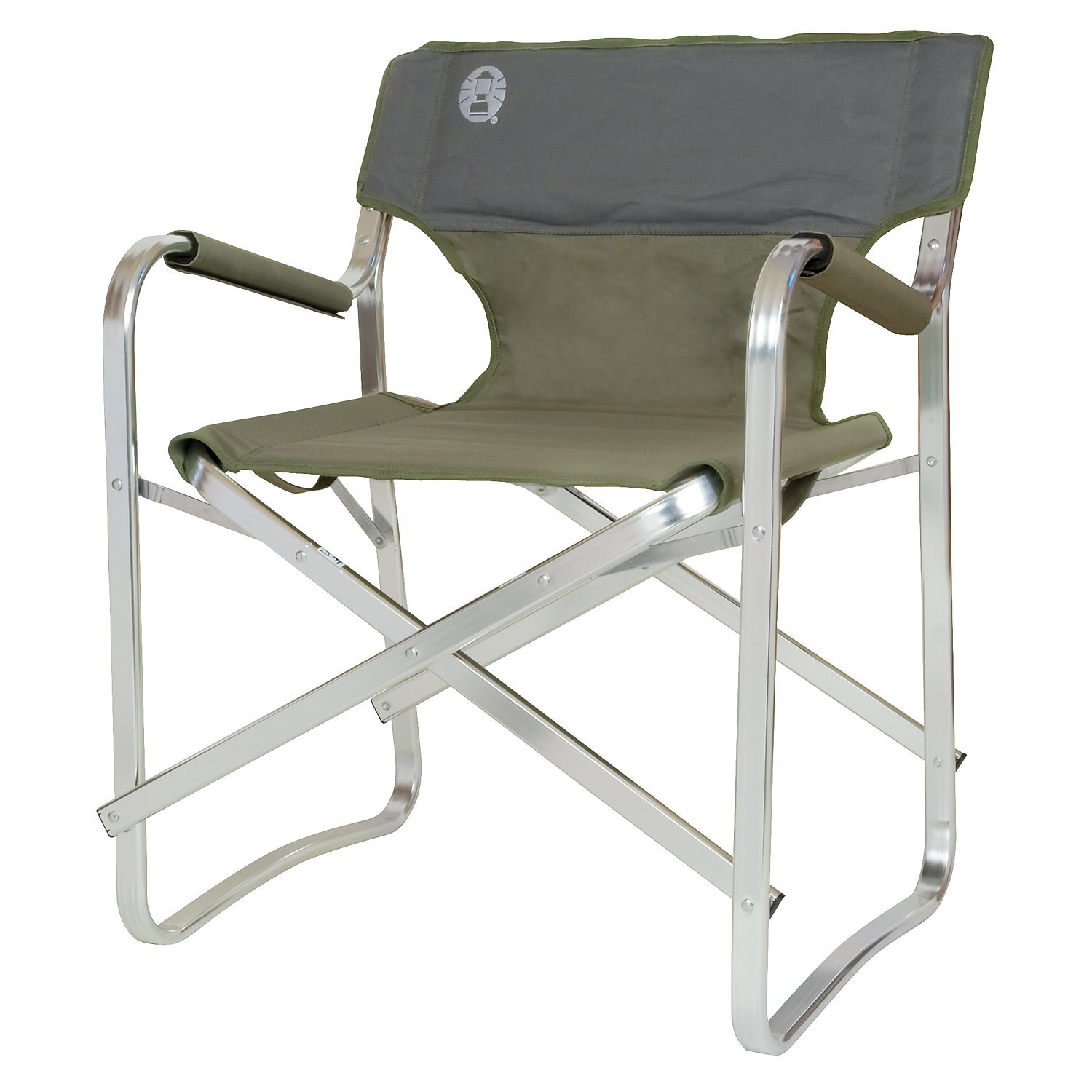 Amazon.com : Coleman Deck Chair green : Camping Stools : Sports ...