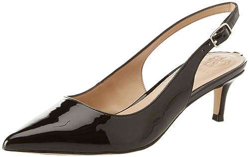 Guess Footwear Dress Sling Back, Zapatos de Tacón con Punta Cerrada para Mujer, Bianco (White), 37 EU