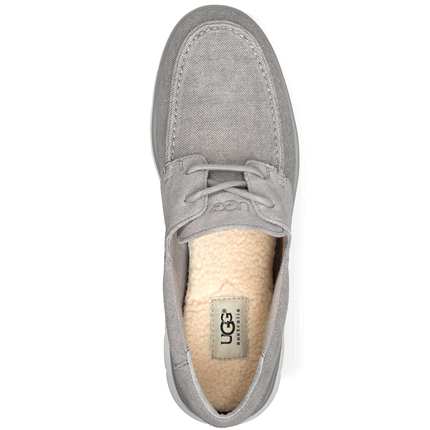 Amazon.com | UGG Australia Mens Catton Sneaker Grizzly Size 8.5 | Loafers &  Slip-Ons