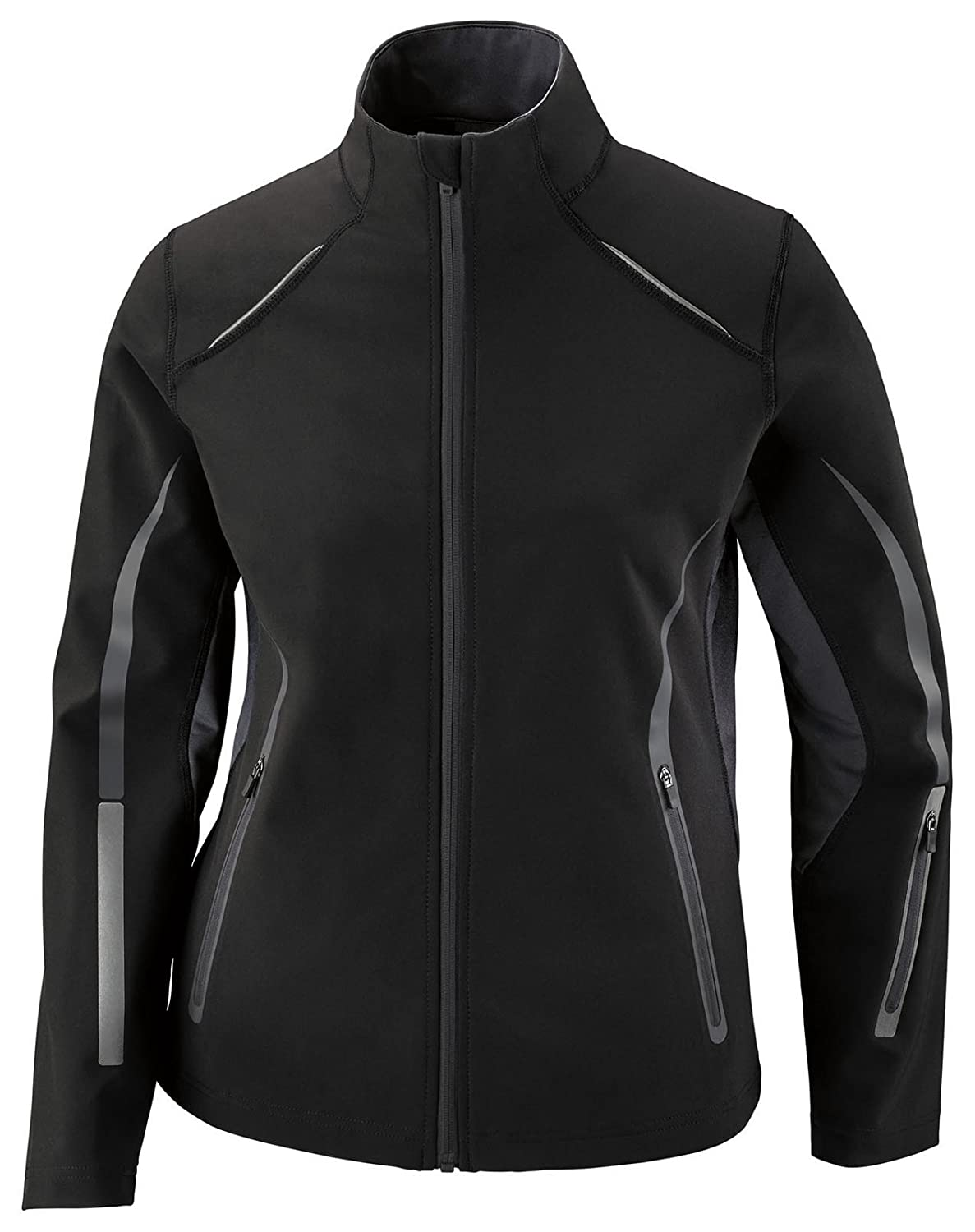 Pursuit Ladies 3-Layer Light Bonded Hybrid Soft Shell Jacket With Laser Perf...