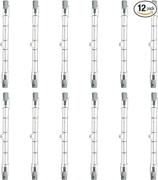 Clear Sunlite Q150T3//CL//S 150-Watt Halogen Double-Ended T3 Bulb