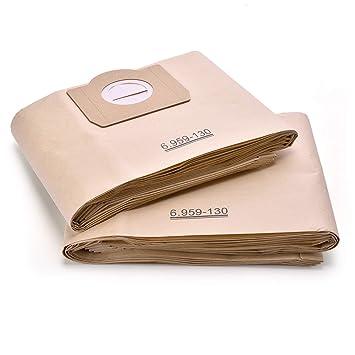 Bolsas de aspiradora compatible Karcher 6.959 - 130.0 bolsas ...