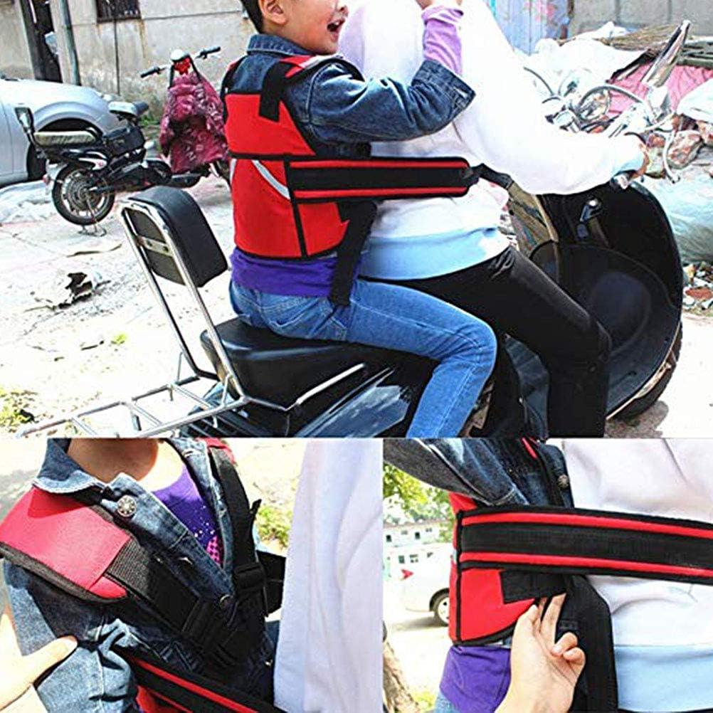 Einstellbare Kinder Motorrad Fahrrad Sicherheitsgurt Sitze G/ürtel Elektrofahrzeug Sicherheitsgurt f/ür Kind Kind Kinder Fovely Motorrad Sicherheitsgurt