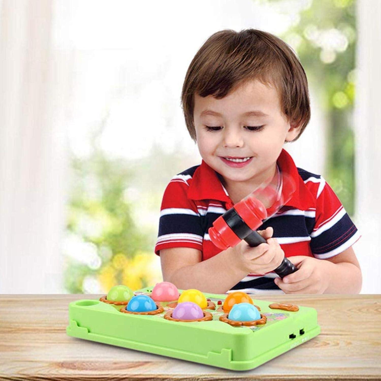 LOVOICE Giocattolo del Gioco della Talpa Giocattolo Durevole Colorato Colpisci La Talpa per I Bambini