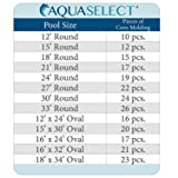 Aqua Select 48 inch Peel and Stick Pool Cove for