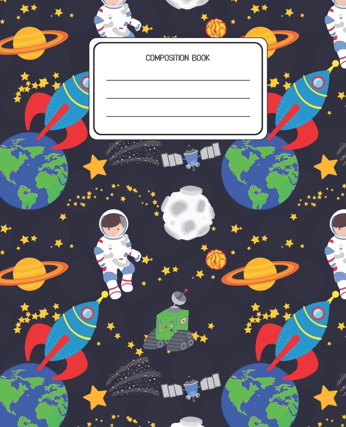 Amazoncom Composition Book Space Pattern Composition Book