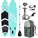 FBSPORT Premium Inflatable Stand Up Paddle Board (6 inches Thick) with SUP Accessories & Carry Bag | Wide Stance, Surf Contro