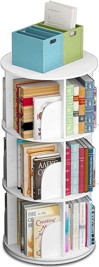 Moderno estante minimalista circular creativo giratorio ...