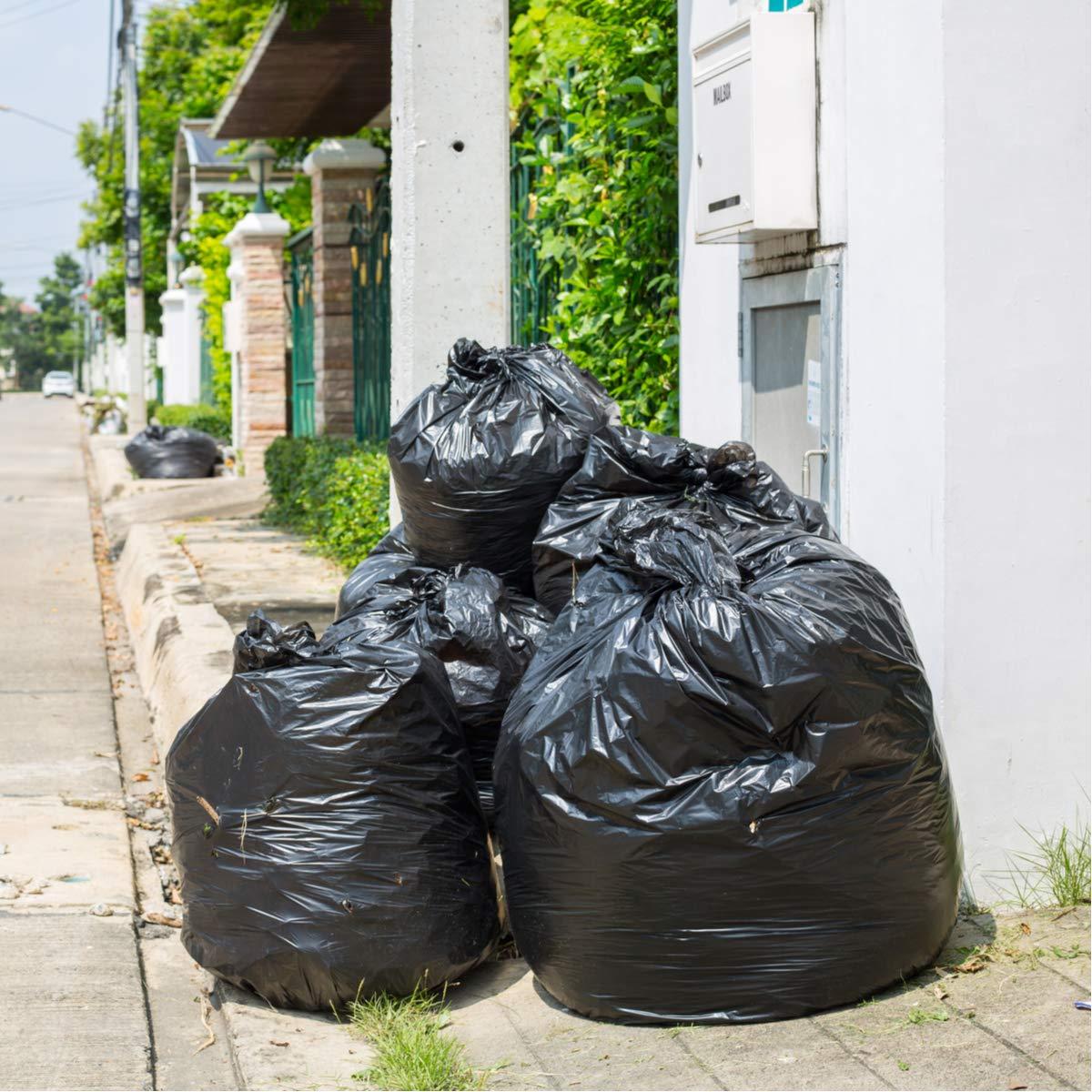 Toughbag 95 Gal Trash bags, Black, 2 Mil, 61x68, 25 Garbage Bags Per Case by ToughBag (Image #8)