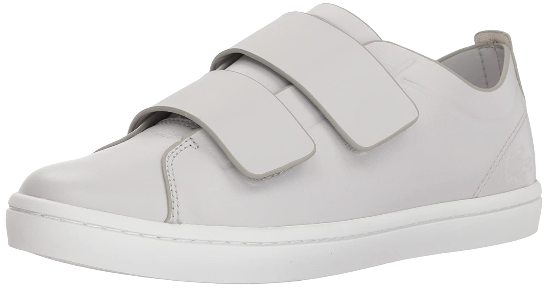 Lacoste Women's Straightset Strap 118 1 Caw Sneaker B072R2Y2YJ 8.5 B(M) US|Light Grey/White