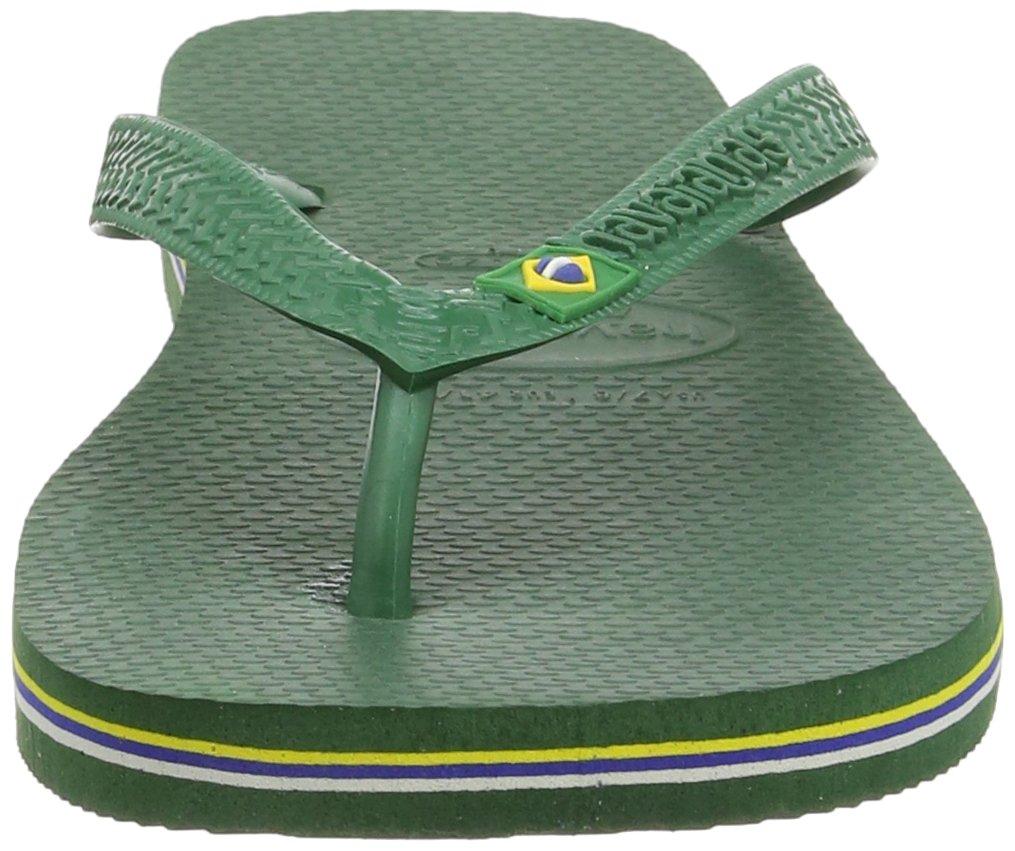 Havaianas Brasil, Unisex Adult's Flip Flops, Green (Brasil Amazonia), 3/4 UK (37/38EU) (35/36 BR) by Havaianas (Image #5)
