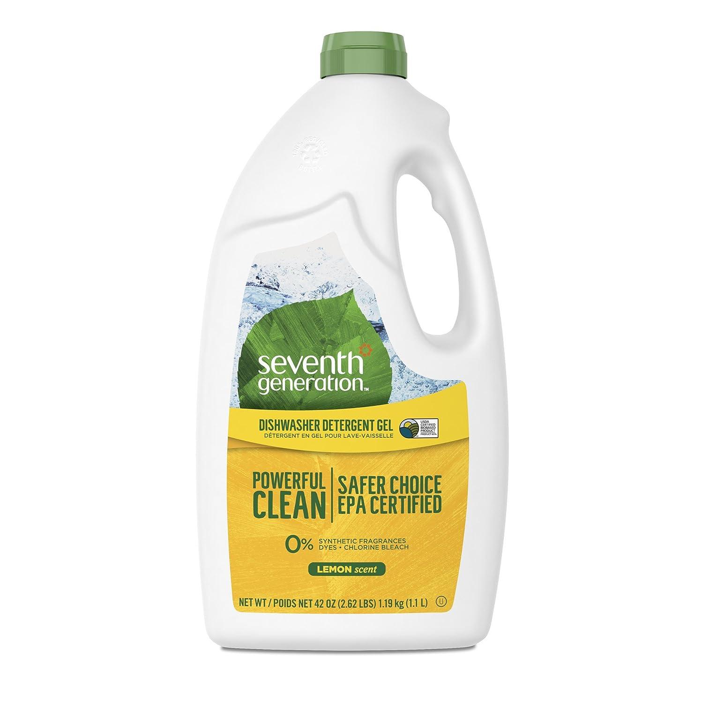 Seventh Generation Lemon Dishwasher Detergent Gel 42 ounce Manufacturer 6ADGL45