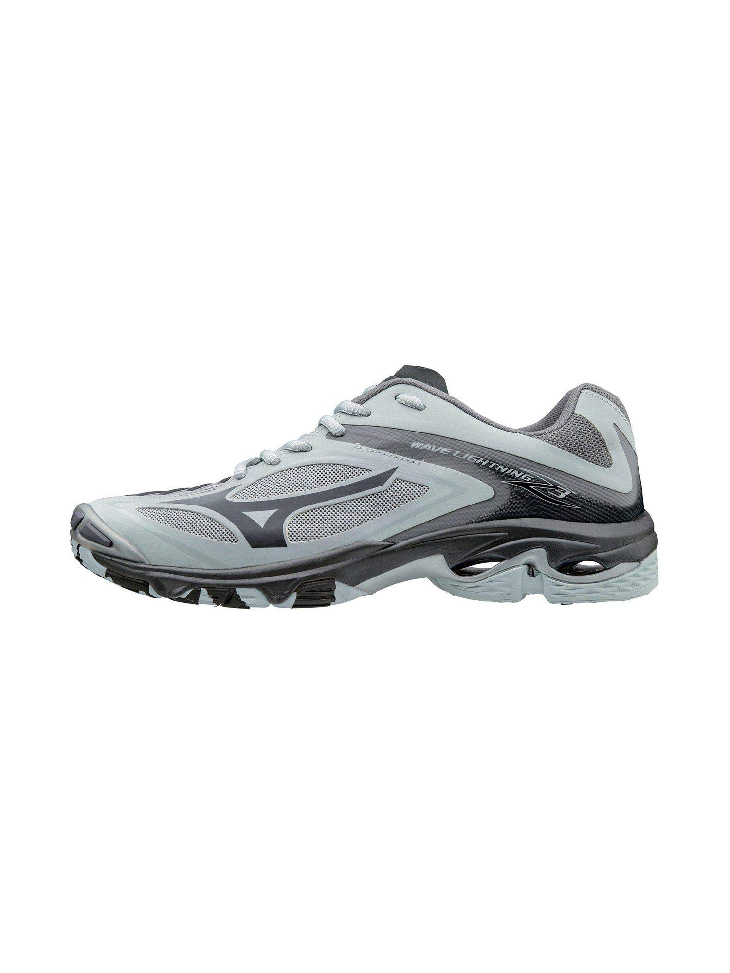 Mizuno Women's Wave Lighting Z3 Volleyball Shoe,Grey,6 B US