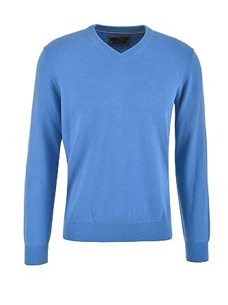 Bugatti Herren Pullover, blau (3XL): : Bekleidung