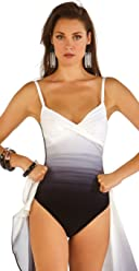 26b4a7b80f Roidal Brasil Olara Black and White Underwire One Piece Swimsuit 411/08/05  Cup