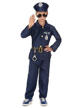Déguisement policier garçon - 8 à 10 ans  Amazon.fr  Jeux et Jouets fa82884026f9