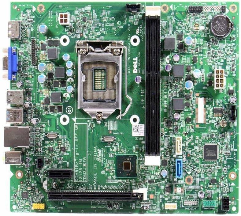 Dell Optiplex 3020 SFF Intel H81 Chipset LGA1155 Socket DDR3 SDRAM 2 Memory Slots Motherboard WMJ54 0WMJ54 CN-0WMJ54 7DM3J