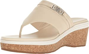 Cole Haan Women's Lindy Grand Thong II Sandshell/Ivory Shoe