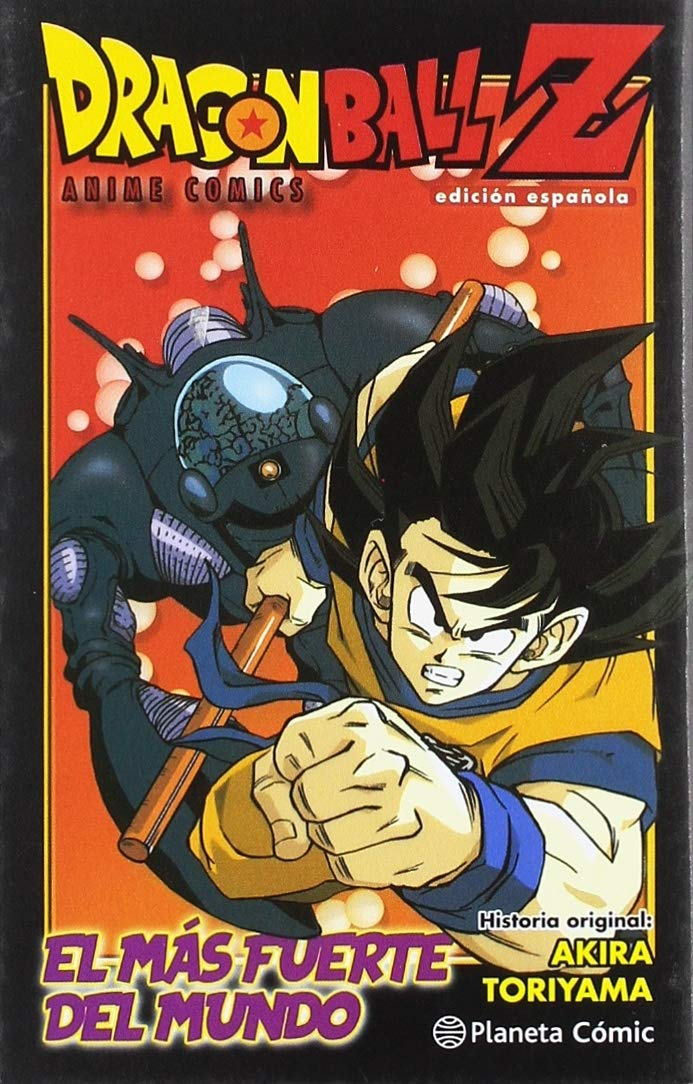 Dragon Ball Z Anime Comic El hombre más fuerte del mundo Manga Shonen: Amazon.es: Toriyama, Akira, Daruma: Libros