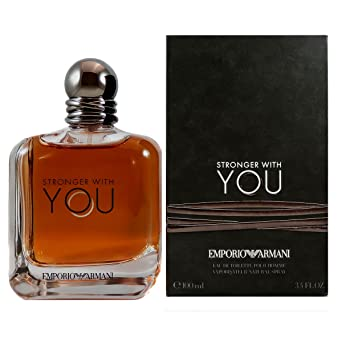 8dec0c5e8944f Emporio Armani Stronger With You Homme Eau de Toilette - 100 ml ...