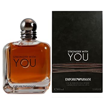 bf048ba56ba Amazon.com   Giorgio Armani Emporio Armani Stronger With You Eau De Toilette  Spray 100ml 3.4oz   Beauty