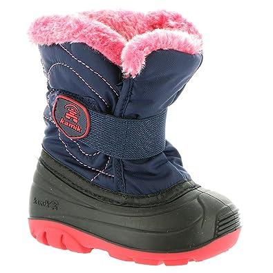 Kamik Footwear Snowbug3 Insulated Boot (Toddler),Navy,5 M US Toddler