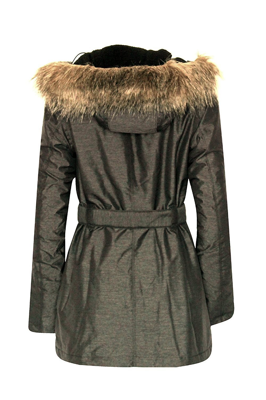 Columbia BEVERLY MOUNTAIN II Women's Winter OMNI HEAT SKI Jacket $200  XS Grey by Columbia (Image #3)