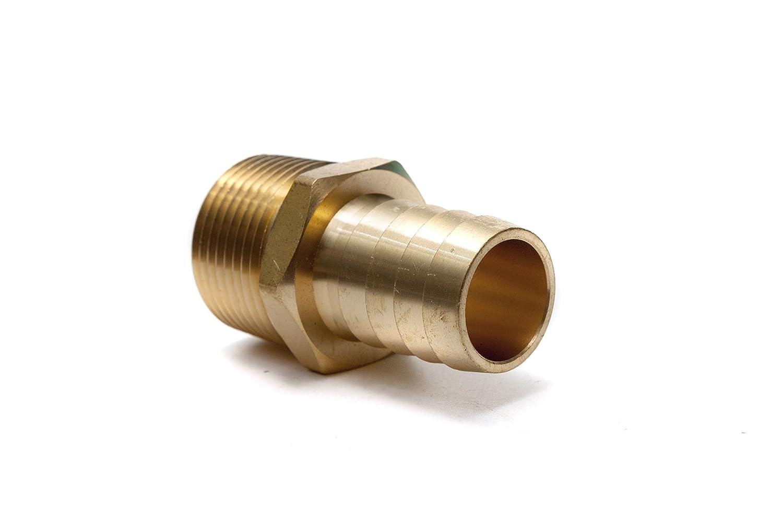 Conector de Leng/üeta de Acero Inoxidable Conector de Cola de Manguera de Conexi/ón de Tuber/ía de Rosca Macho SS304 de Acero Inoxidable BSP 1//8~ 3//4 1//2 * 8mm Leng/üeta de Manguera