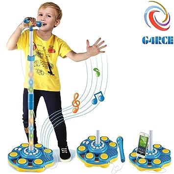 G4RCE® Children Girls Boys Microphone Mic Karaoke Singing Kids Music Toy  Birthday Xmas Gifts UK