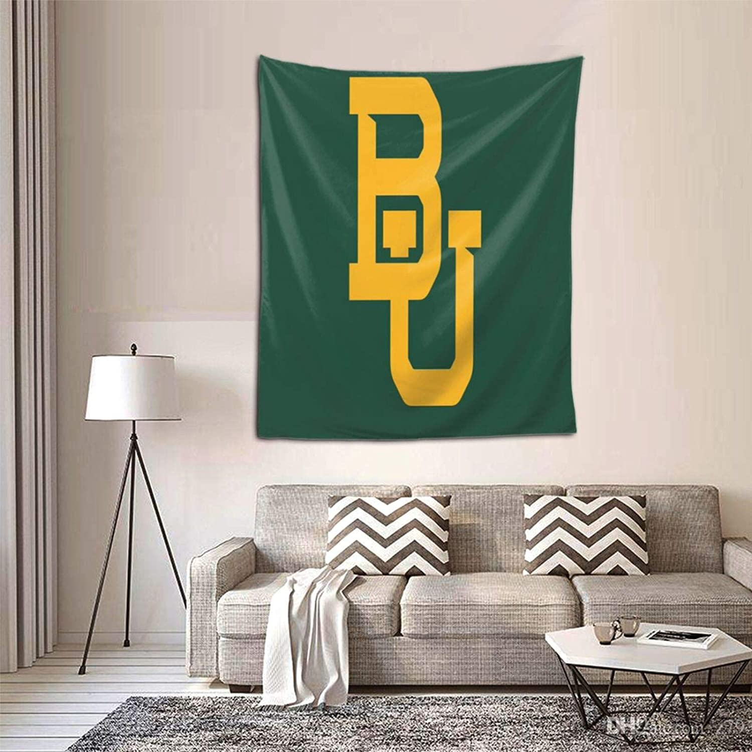 Lilian Ralap Bay-Lor Be-Ars Football 3D Printed Tapestry Room Outdoor Decor Wall Hanging Tapestry 60 51 Inch