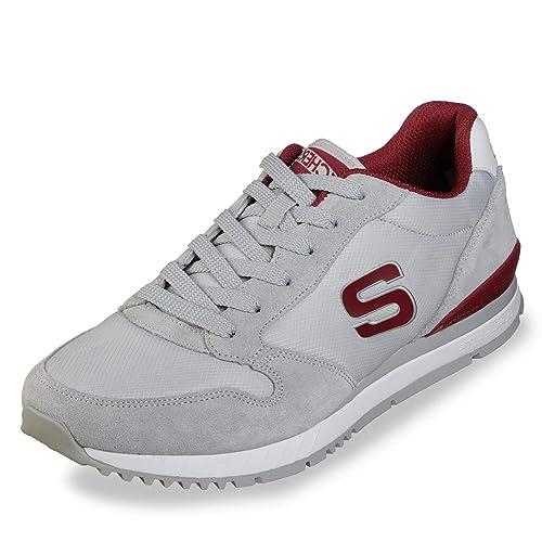 Gute Qualität Skechers Sneaker navy grau Herren