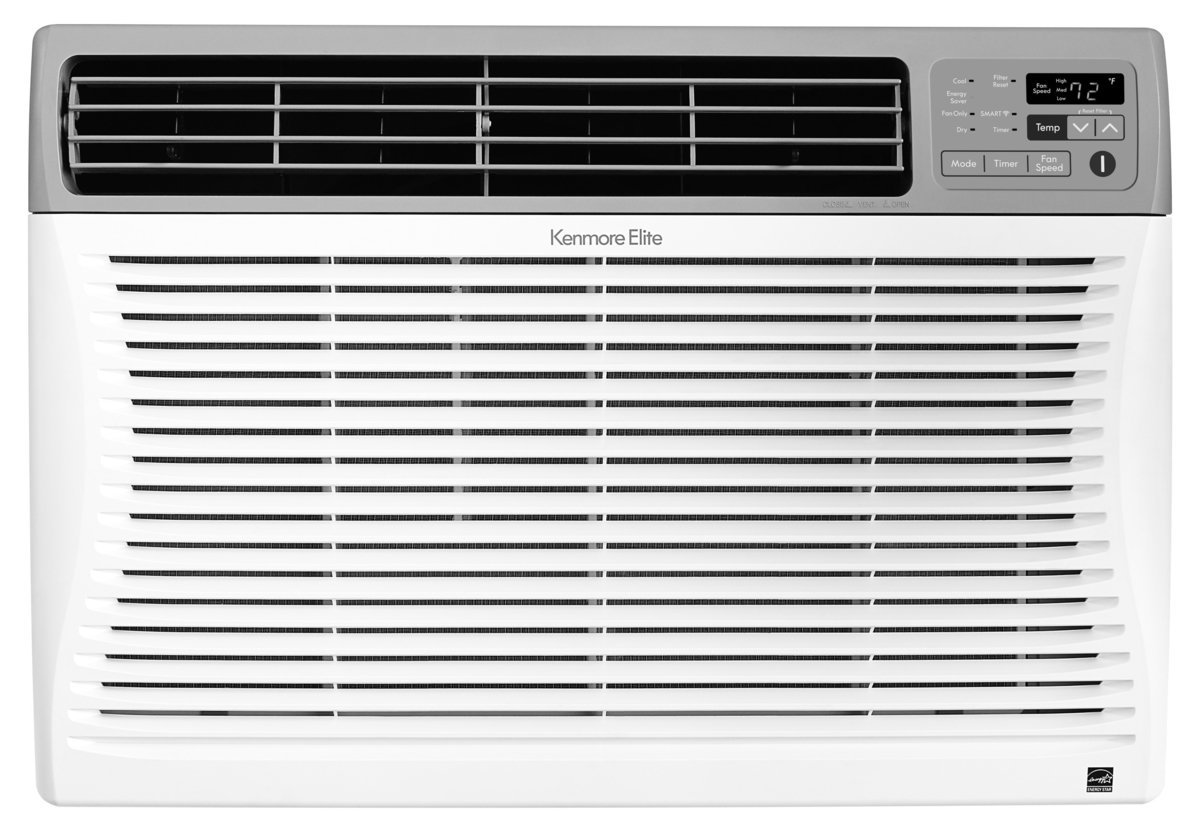 Kenmore Smart 04277087 Room-air-conditioners, 8,000 BTU, White