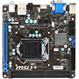 MSI Mini-ITX DDR3 LGA 1150 USB 3.0 + SATA (6Gb/s) Motherboard (H81I)
