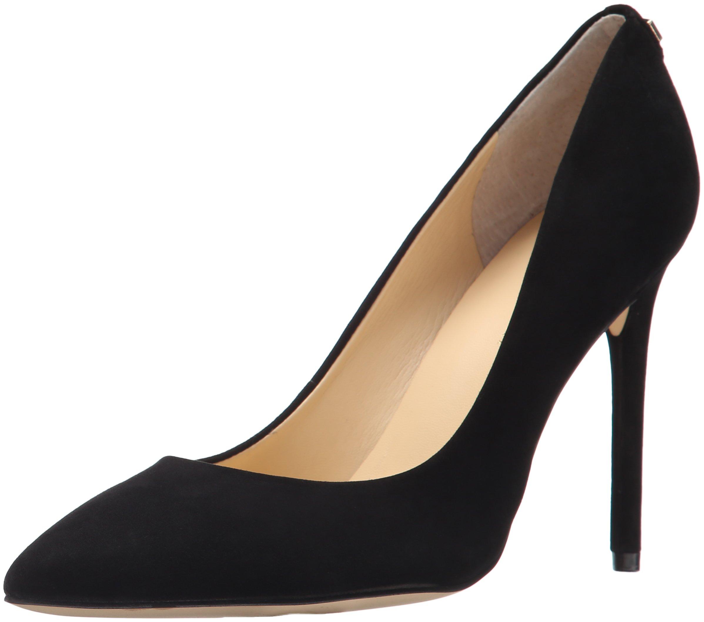 Ivanka Trump Women's Kayden Shoe, black suede, 8 Medium US