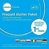 Lebara Prepaid-SIM-Karte mit 10 Euro Startguthaben